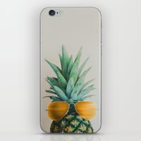 Pineapple In Paradise No… iPhone & iPod Skin