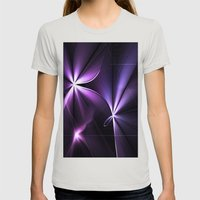 Twenty Womens Fitted Tee Silver SMALL