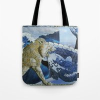 Different Worlds Tote Bag