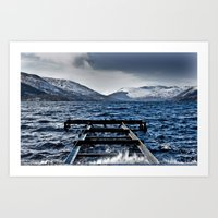 The Loch Art Print