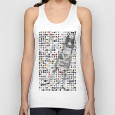 LOVE Mosaic Unisex Tank Top