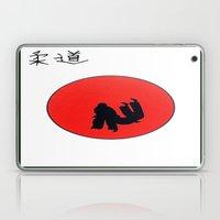 Art Of Judo Print Laptop & iPad Skin