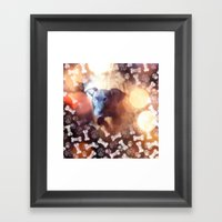 Them Bones Framed Art Print