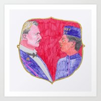 We are brothers. Art Print