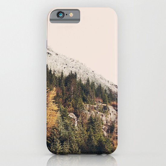 Winter Mountain Morning iPhone & iPod Case