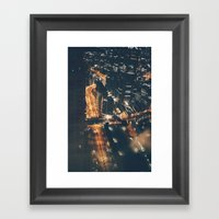 Streamed Framed Art Print