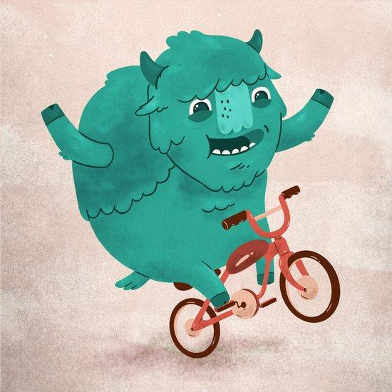 Bicycle Buffalo Art Print