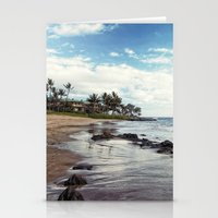 paradise island Stationery Cards