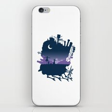 Sophie and Calcifer iPhone & iPod Skin