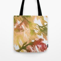 Morning Blossoms 2 - Olive Variation Tote Bag