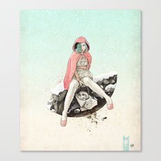 Waiting for the Wolf Canvas Print