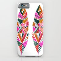 Brooklyn feathers iPhone 6 Slim Case