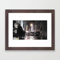 Rosie O's By Times Square Framed Art Print