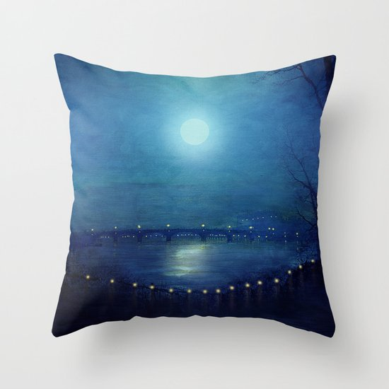 I'll Be Your Moon Throw Pillow