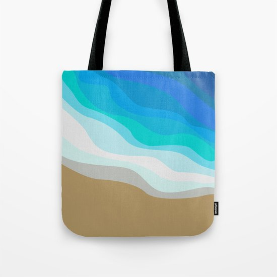 Gold Sand Tote Bag