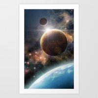 Welcome To The Space Art Print