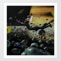 Astro Boy | Collage Art Print