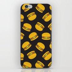 Burger Pattern  Everett co iPhone & iPod Skin