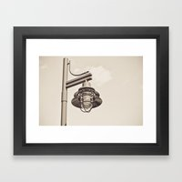 The Light Framed Art Print