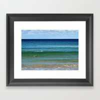 The Old Man And The Sea  Framed Art Print