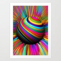 A World Of Color Art Print
