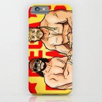 iPhone & iPod Case featuring Mega Powers, Hulk Hogan & Macho Man (WWE, WWF) by RandallTrang