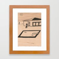 Pool #1 Framed Art Print