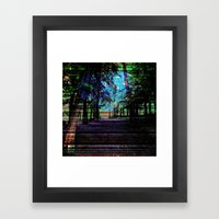 METEORYTHE Framed Art Print