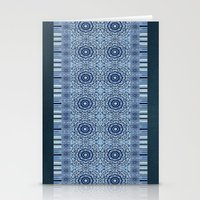 Denim Mandalas Stationery Cards