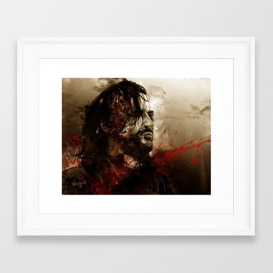 Blood of the Dogs Framed Art Print