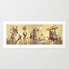 Flying Machines Art Print