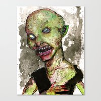 Minor Orc Canvas Print