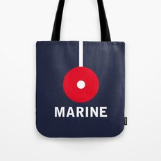 Marine Navy Majesty Ship Tote Bag