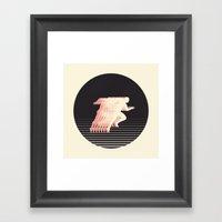 Terrestrial Locomotion Framed Art Print