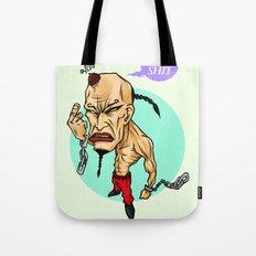 angry guy Tote Bag