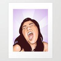 Shout Art Print