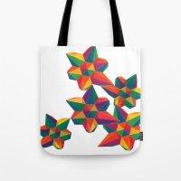 Hexagon Explosion Tote Bag