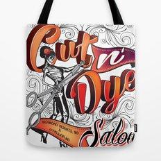 Cut N' Dye Girl Tote Bag