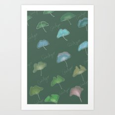 Ginkgo  Art Print