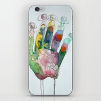 Hand-Eye iPhone & iPod Skin