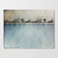 Winter Landscape - Susan… Canvas Print