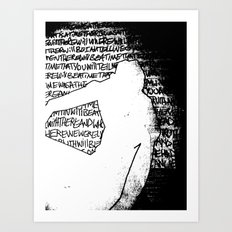 Touch Art Print
