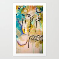 Love Colors Art Print