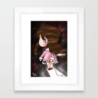 The Akai Ito That Snapped Framed Art Print