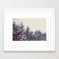 Winter Daydream #2 Framed Art Print