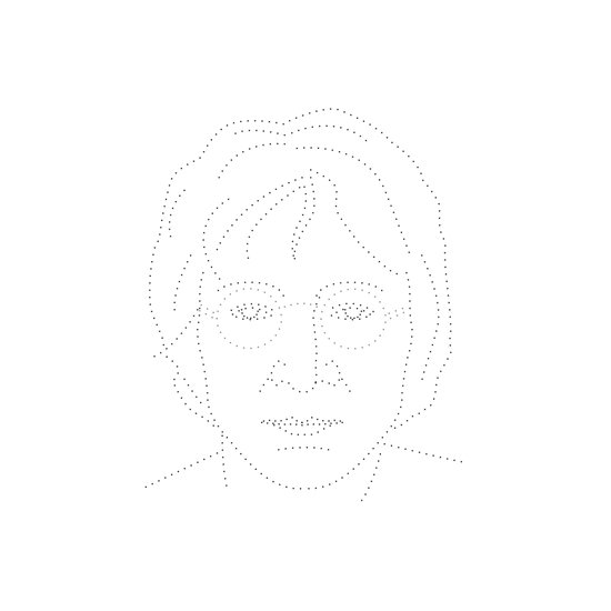 Dot and Roll - John Art Print