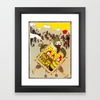 Christmas eve Framed Art Print