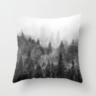 The Visionary Echo BW #s… Throw Pillow