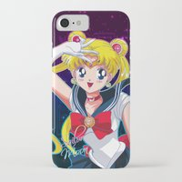 sailor moon iPhone & iPod Cases featuring Sailor Moon  by Neo Crystal Tokyo