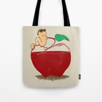 Apple Juice Tote Bag